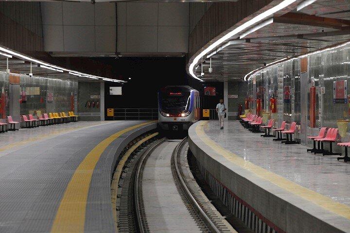 افتتاح ایستگاه مترو