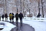 برف و باران سمنان را فراگرفت   استان پذیرای دو موج بارشی تا پایان هفته