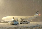 همه پروازهای انتقالی به اصفهان به فرودگاه امام(ره)بازگشتند