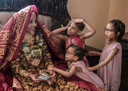 تصاویر | ریختوپاش عجیب در یک عروسی