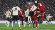 لیگ برتر فوتبال انگلیس | شیاطین سرخ در آنفیلد زانو زدند