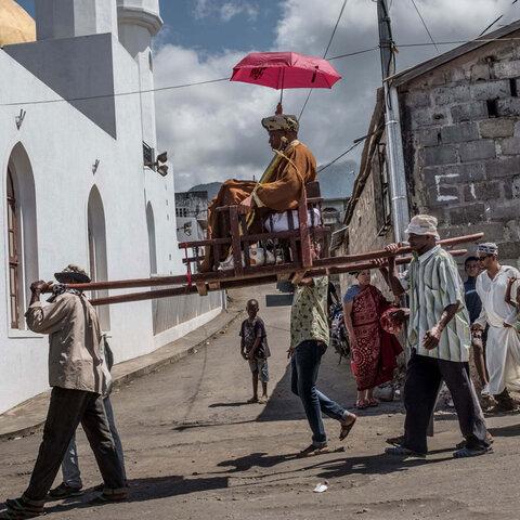 عروسی به سبک مردم کومور