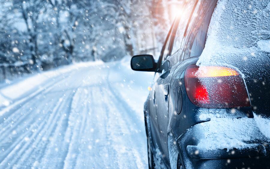 برف - رانندگي - زمستان