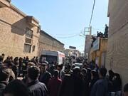 تصویری از قبور جانباختگان حادثه تشییع سردار سلیمانی