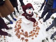 روز خوش آدم برفیها