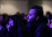 تصاویر اشکهای دختر و پسر سردار قاسم سلیمانی در فراق پدر