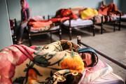 آمار شیوع اعتیاد بین مددجویان زن و مرد گرمخانههای تهران