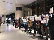 تصاویر | ممانعت آمریکا از بازگشت دانشجوی ایرانی
