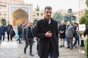 تصاویر | عادل و عارف در یادبود فارغالتحصیلان جانباخته شریف در سانحه سقوط هواپیما
