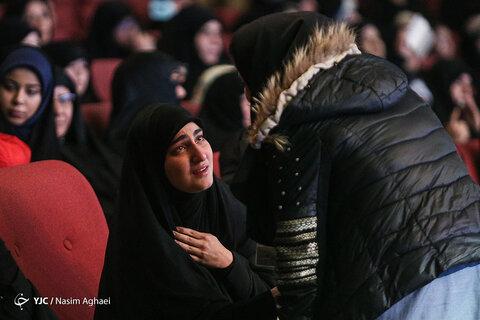 اشک های فرزندان شهید سلیمانی