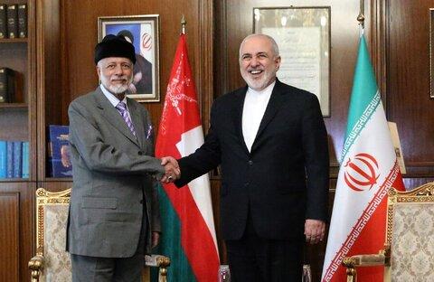 فیلم و تصاویر | جزئیات دیدار وزیران امور خارجه ایران و عمان