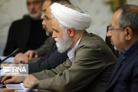 تصاویر جلسه شورای عالی انقلاب فرهنگی