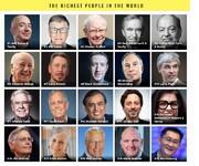۲۶ ثروتمند جهان به اندازه نیمی از کل بشریت پول دارند