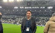 عکس   وحید هاشمیان در ایتالیا و باشگاه یوونتوس