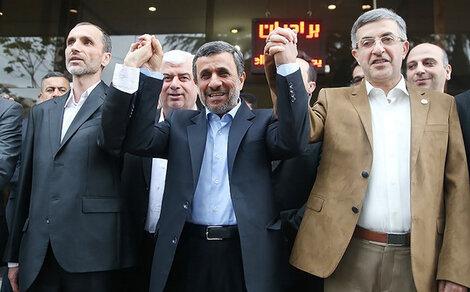 مشایی بقایی احمدینژاد