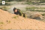 فیلم | لحظه شلیک به سر یک نظامی اسرائیل | تذکر: برای همه افراد مناسب نیست