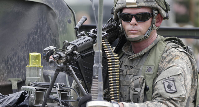 واکنش پنتاگون به درگیری و تبادل آتش میان نظامیان روسی و آمریکایی