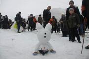 تصویر | جشنواره بازیهای زمستانی در مهاباد