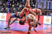 ایران قهرمان مسابقات کشتی فرنگی بینالمللی جام تختی شد
