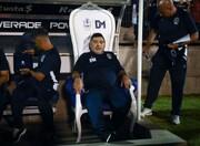 عکس | مارادونا برتخت پادشاهی نشست