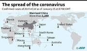 شمار مبتلایان به ویروس کرونا به تفکیک هر کشور