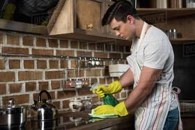 خانهتکانی آسان | ۱۰ نکته طلایی برای تمیز کردن آشپزخانه