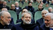 تصاویر | کدام چهرههای سیاسی به اولین سالگرد درگذشت محمدنبی حبیبی رفتند | از روح الامینی تا لاریجانی و صالحی