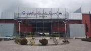 عکس | ورزشگاه گل گهر به نام سردار سلیمانی شد