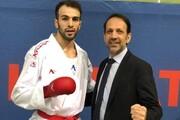 لیگ جهانی کاراته | بهمن عسگری با کسب مدال طلا المپیکی شد