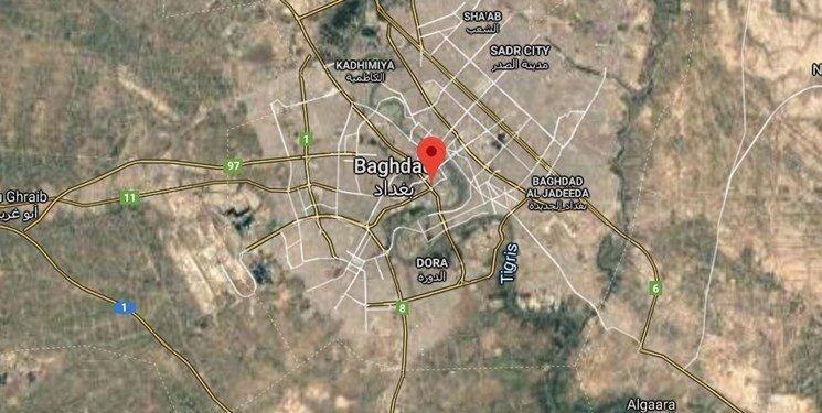 شلیک ۴ راکت به منطقه سبز بغداد   اصابت یک راکت به ساختمان سفارت آمریکا:عراق
