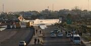 تصاویر   خروج هواپیمای مسافری تهران – ماهشهر از باند فرودگاه