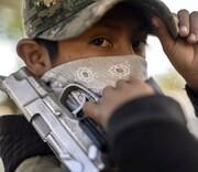 تصاویری عجیب از تلاش کودکان برای مبارزه با قاچاقچیان مواد مخدر