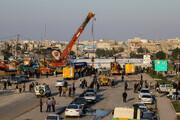 واضحترین تصاویر از میزان آسیب هواپیمای ماهشهر