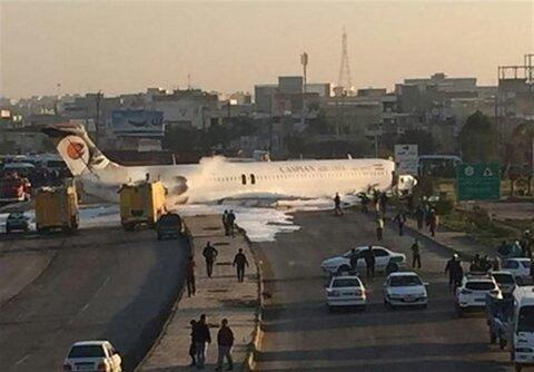 تصاویر | لحظه به لحظه عملیات جابهجایی هواپیمای سانحهدیده ماهشهر از وسط اتوبان به فرودگاه