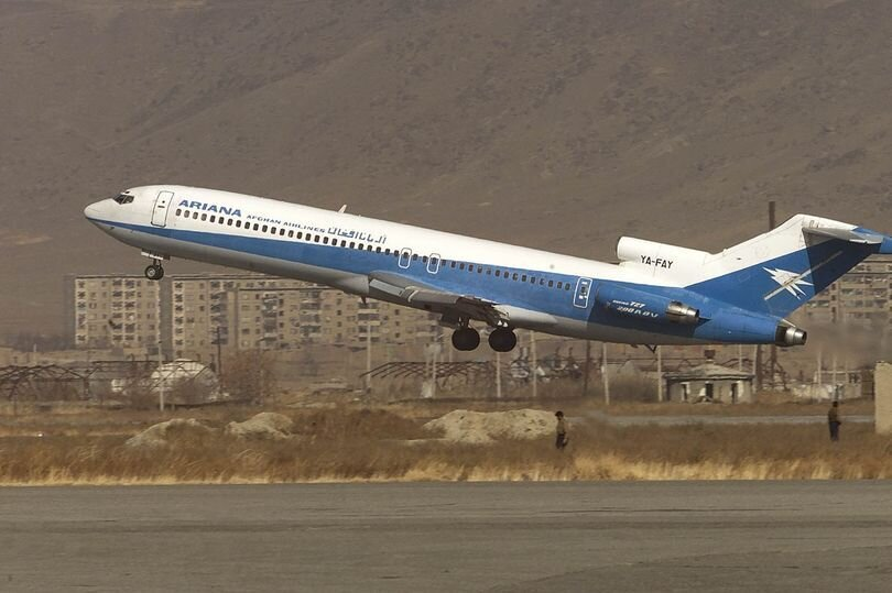 هواپيما - افغانستان