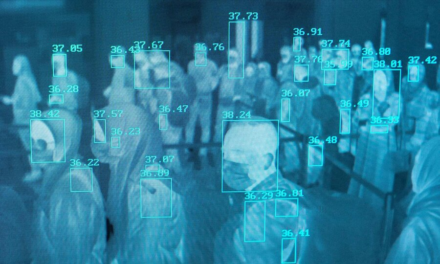 thermographic monitor