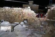 چادرهای هلال احمر برای زلزلهزدگان خانزنیان شیراز برپا شد