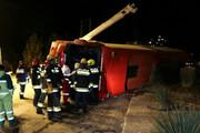 واژگونی اتوبوس در اصفهان | ۲۸ کشته و زخمی