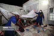 تصویر| زمینلرزه ۴.۵ ریشتری در خانه زنیان استان فارس