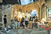 وضعیت ناهموار معابر در بازار سنتی کرمانشاه