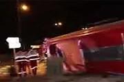 روایت پلیس از حادثه اتوبوس شیراز - تهران | ۱۰ کشته و ۱۷ زخمی