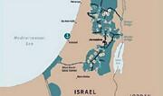 نقشه مدنظر ترامپ از اسرائیل و فلسطین را ببینید