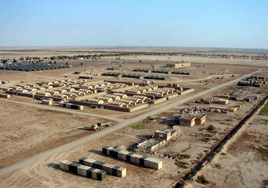 ساخت ۳ پایگاه نظامی آمریکا در نزدیکی مرز ایران   محل احداث این پایگاهها اعلام شد;پایگاه امریکایی