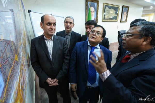دیدار استاندار گلستان با سفرای بنگلادش