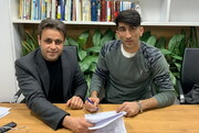 قرارداد بیرانوند و «آنتورپ» امضا شد