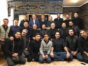 عکس | علیرضا فغانی در ایران | حضور در مراسم فاطمیه