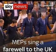 فیلم | خداحافظی انگلیس از اتحادیه اروپا