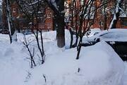 فیلم | دفن شدن خانه زیر برف در کمتر از چند ساعت