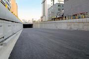تونل-زیرگذر استاد معین با حضور شهردار تهران افتتاح شد