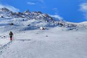 کوهنوردان گرفتار در دامنه سبلان نجات یافتند